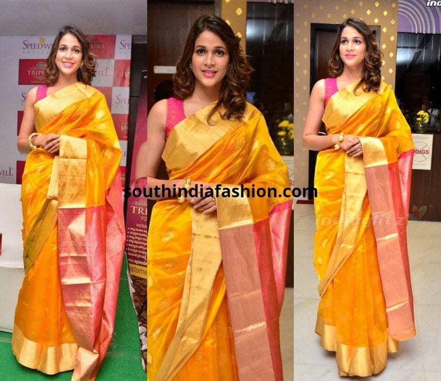 Lavanya Tripathi in Silk saree