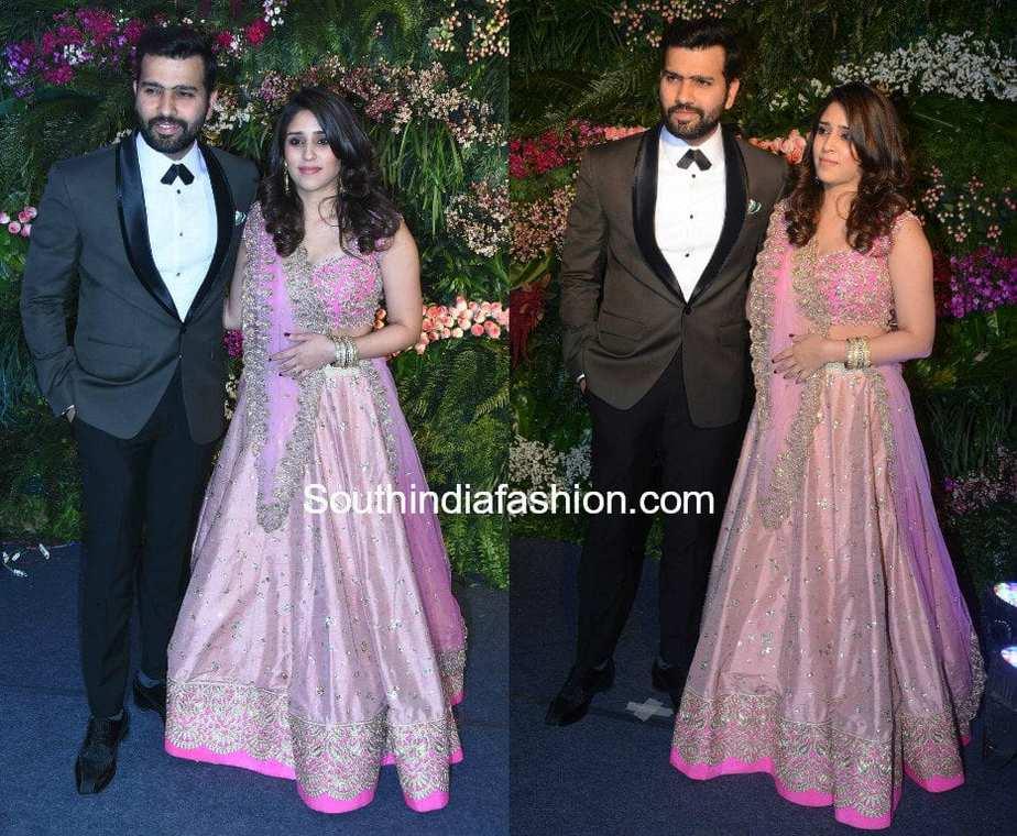 cricketer rohit sharma wife ritika
