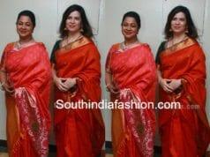 Radhika Saratkumar and Rayane at Aadhav Kannadasan and Vinodhnie Wedding