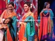renu desai in bharagvi kunam anarkali neethone dance show