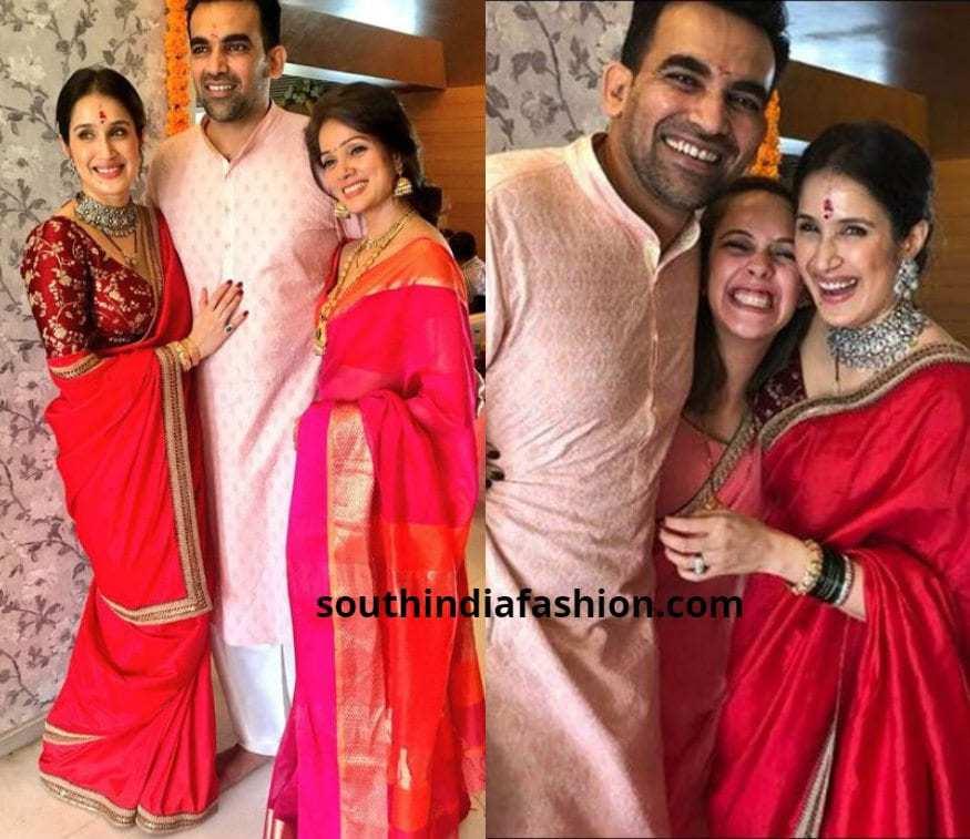Sagarika Gatke Zaheer Khan Wedding