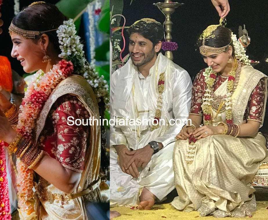 samantha prabhu wedding saree
