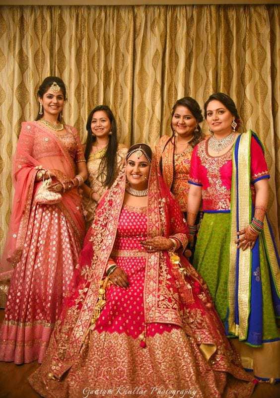Bridal lehengas fashion trends south india fashion for Plus size indian wedding dresses