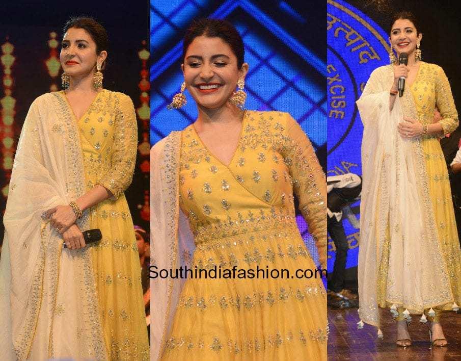 Anushka Sharma in Anita Dongre at International Customs Day Celebration