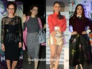 Celebrities in skirts