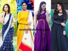 Anasuya dress choices