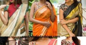 Top 5 Saree Choices With Kalamkari Blouses