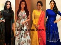 Keerthy Suresh dresses