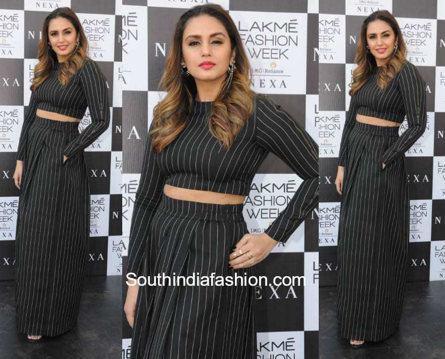 Huma Qureshi in Two Point Two at Lakme Fashion Week 2018