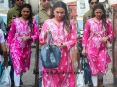 Lara Dutta's ethnic look