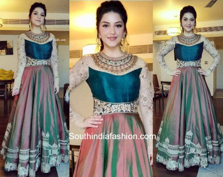 Mehreen Pirzada in AVDI at a college event