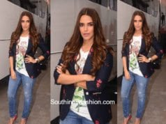 Neha Dhupia in Gucci and H&M at Vogue BFF