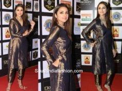 Parineeti Chopra in Raw Mango at Lions Gold Awards 2018