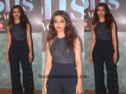 Radhika Apte in a jumpsuit at Vogue BFF Event