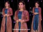 Raveena Tandon in Anoli Shah at The Wedding Junction event 1