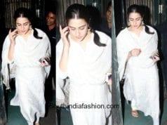 Sara Ali Khan's ethnic look