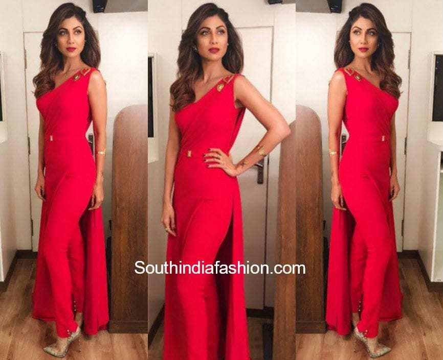 Shilpa Shetty in Neetu Rohra – South India Fashion