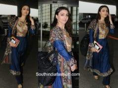 Soha Ali Khan in Anjali Jani at the airport