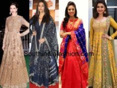 Different anarkali designs