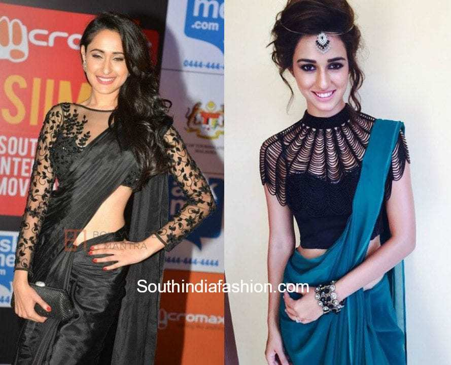 to buy huge discount various design Stylish Black Saree Blouses 2018, Latest Blouse Designs