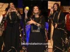 Sushmita Sen in Sabyasachi at International Customs Day Celebration