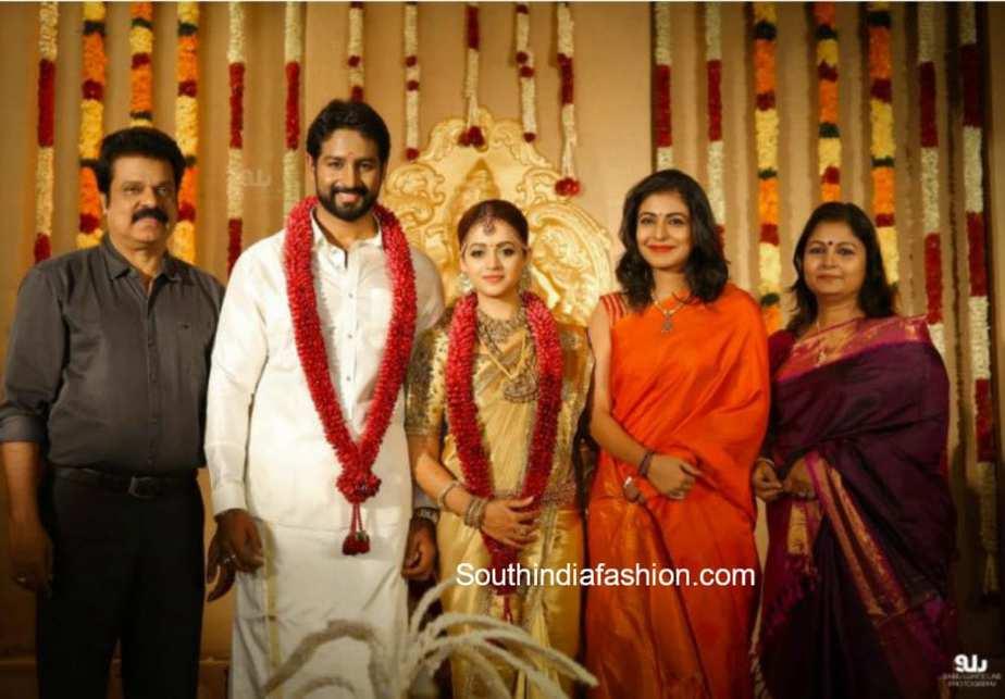 bhavana naveen marriage