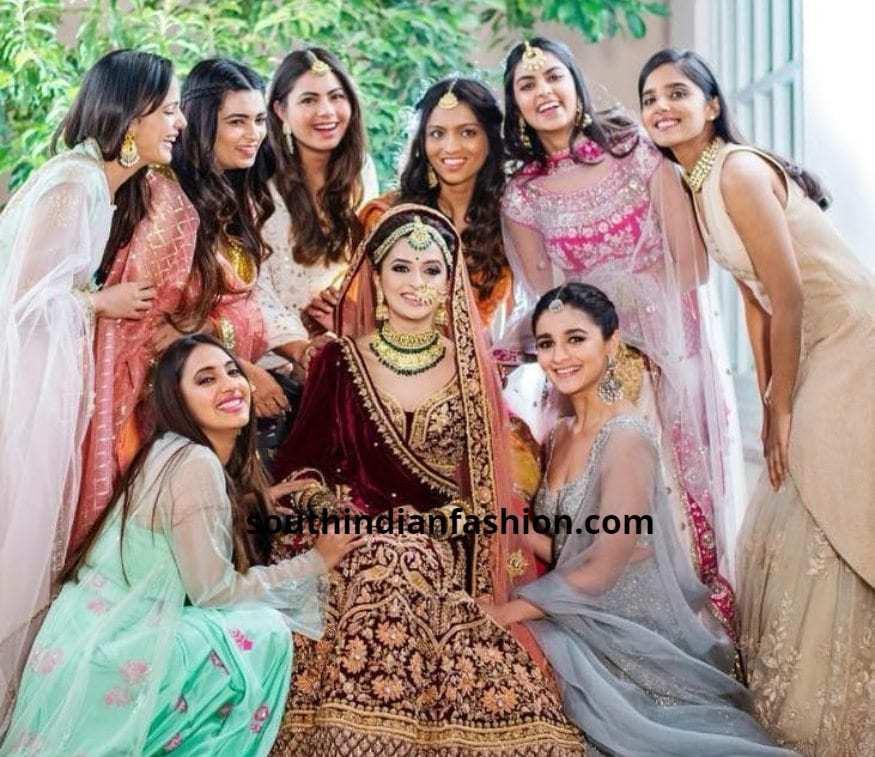 Alia Bhatt At Friend wedding