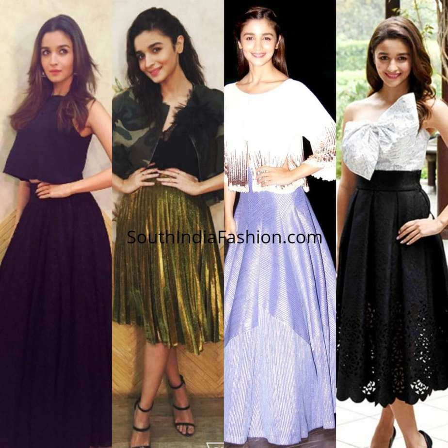9c1ea8ca354 4 Times Alia Bhatt Nailed The Styling Of Her Skirts