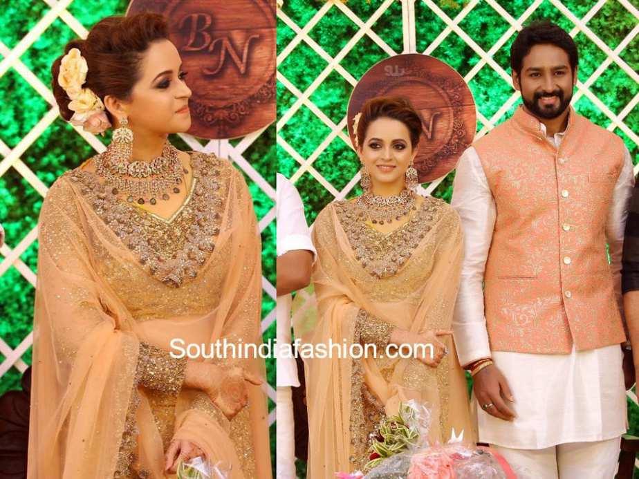 actress bhavana and naveen wedding reception