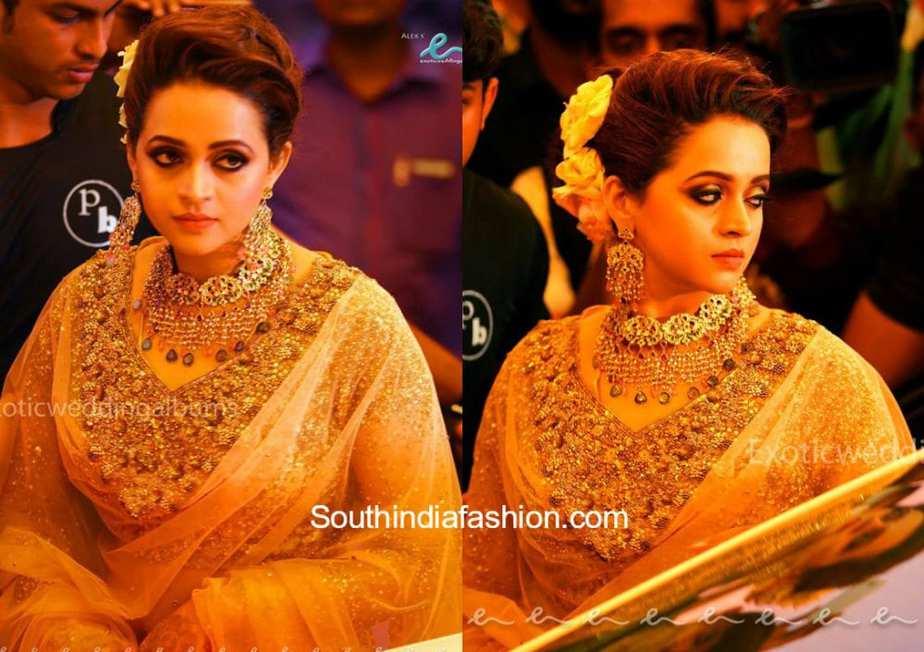 actress bhavana and producer naveen wedding photos