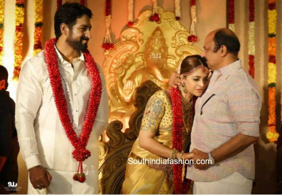 actress bhavana wedding