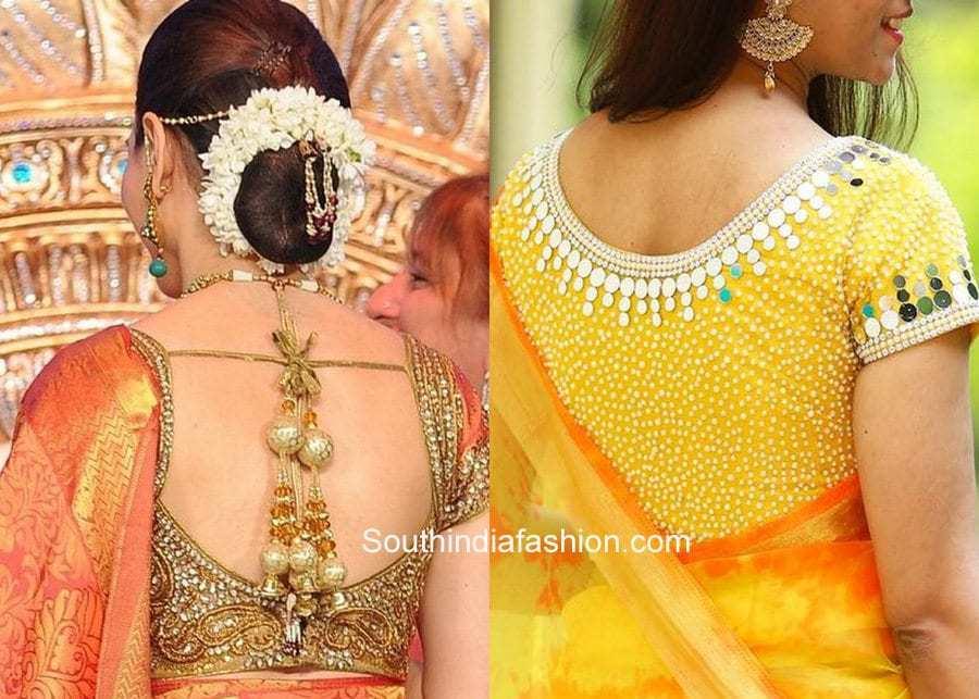 100 Blouse Designs Best Stunning Latest Saree Blouse Neck Designs