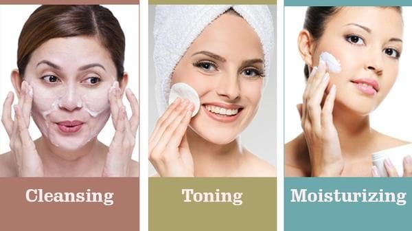 cleansing toning moisturizing