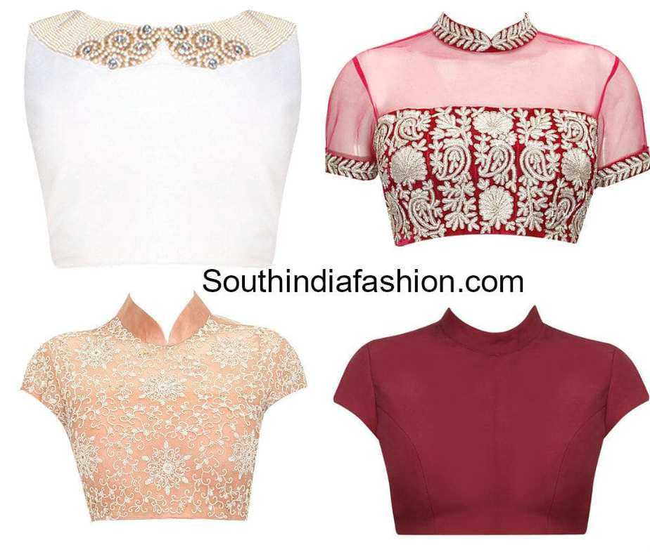 01 15 Top 10 Saree Blouse Back Neck Designs Fashion Trendy