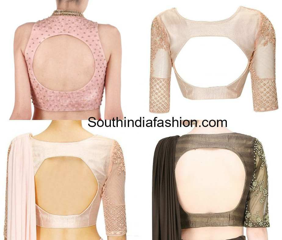 100 Blouse Designs Best Stunning Latest Saree Blouse Neck Designs