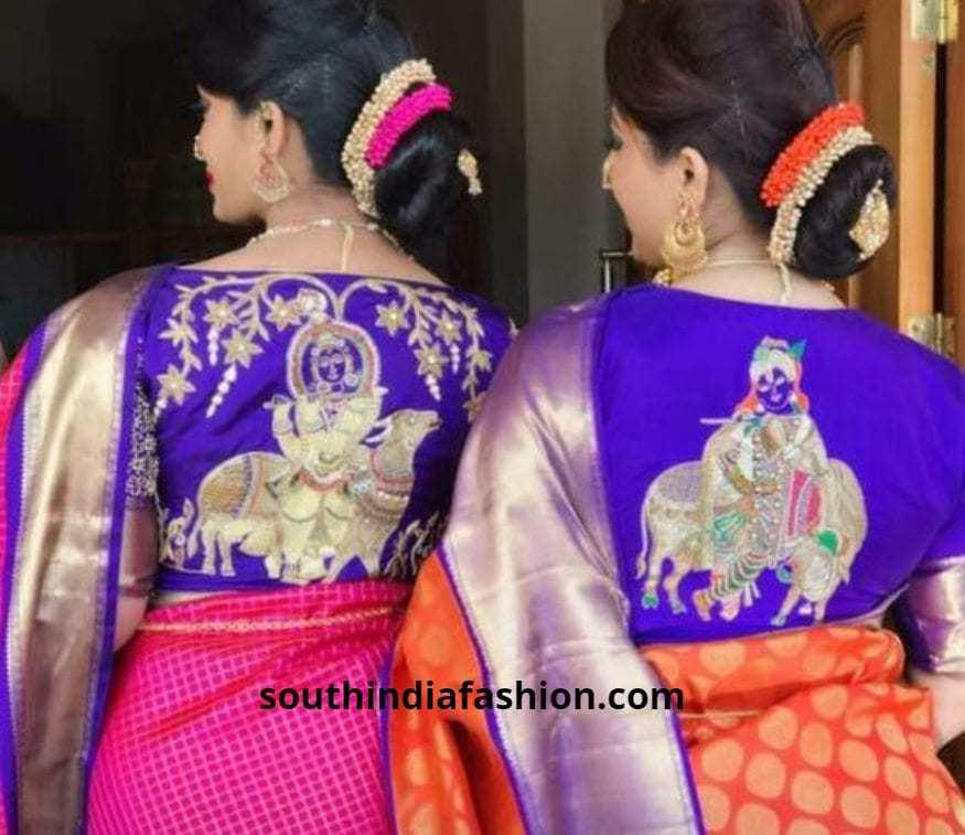 divine saree blouses