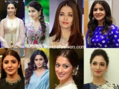 best hairstyles with anarkalis