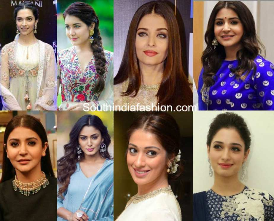 12 Hairstyles That Look Perfect With Anarkalis