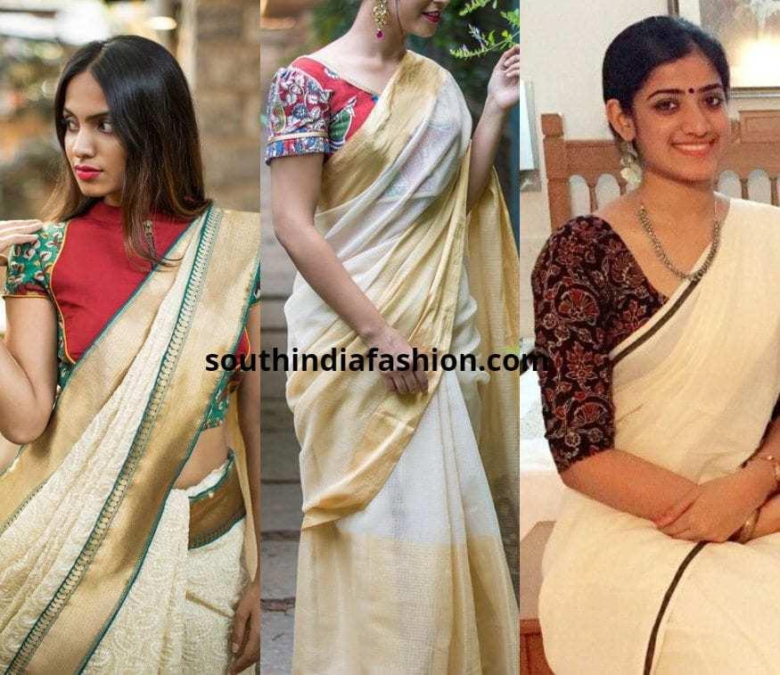 acb3c78d07c03 Top 5 Saree Choices With Kalamkari Blouses