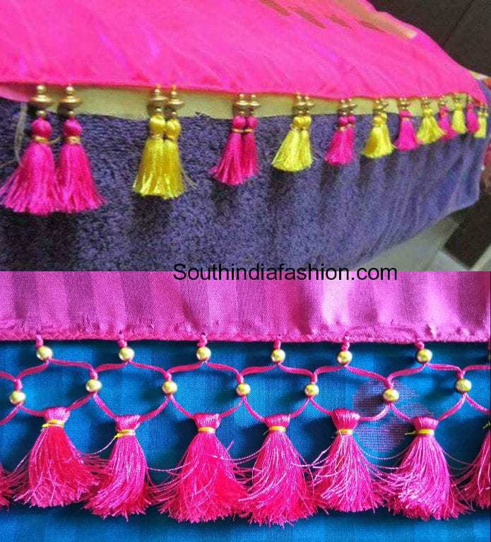52ffd4005e699a Interesting Saree Tassels- Have You Done This Yet??