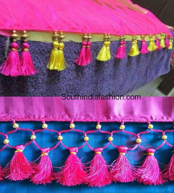 Saree Kuchu New Designs