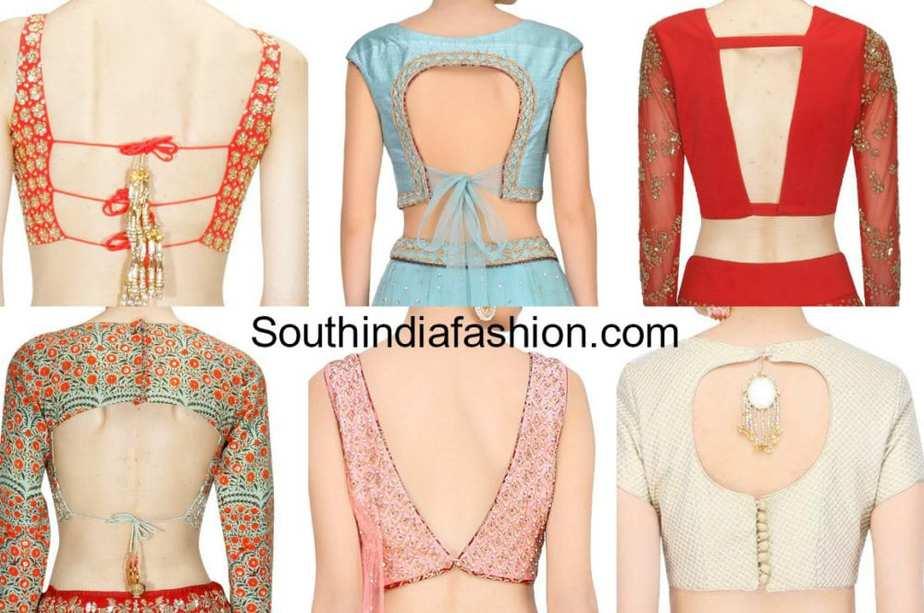 latest blouse neck patterns