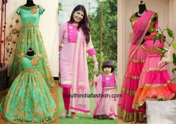 201d1f530 Mother and Daughter Matching Dresses  Latest Fashion Trend – South ...