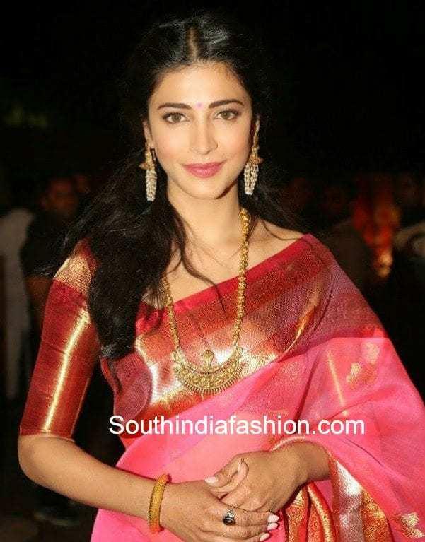 pattu sarees with big border blouses