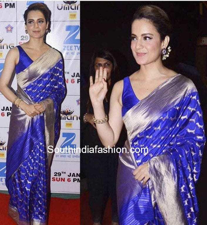 sleeveless blouse with pattu sarees