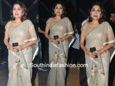 ramya krishna in saree at gand pre release function