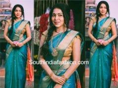 Ramya Subramanian silk saree