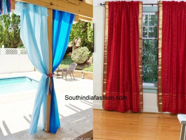 8 creative ways to reuse old dupattas reuse old chunnis for Creative ways to make a table