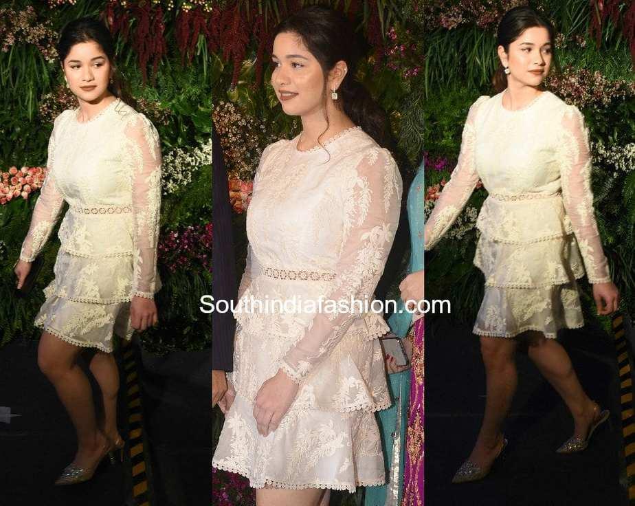 Sara Tendulkar at Anushka and Virat's Wedding Reception ...