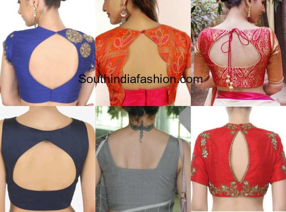 blouse neck neck models